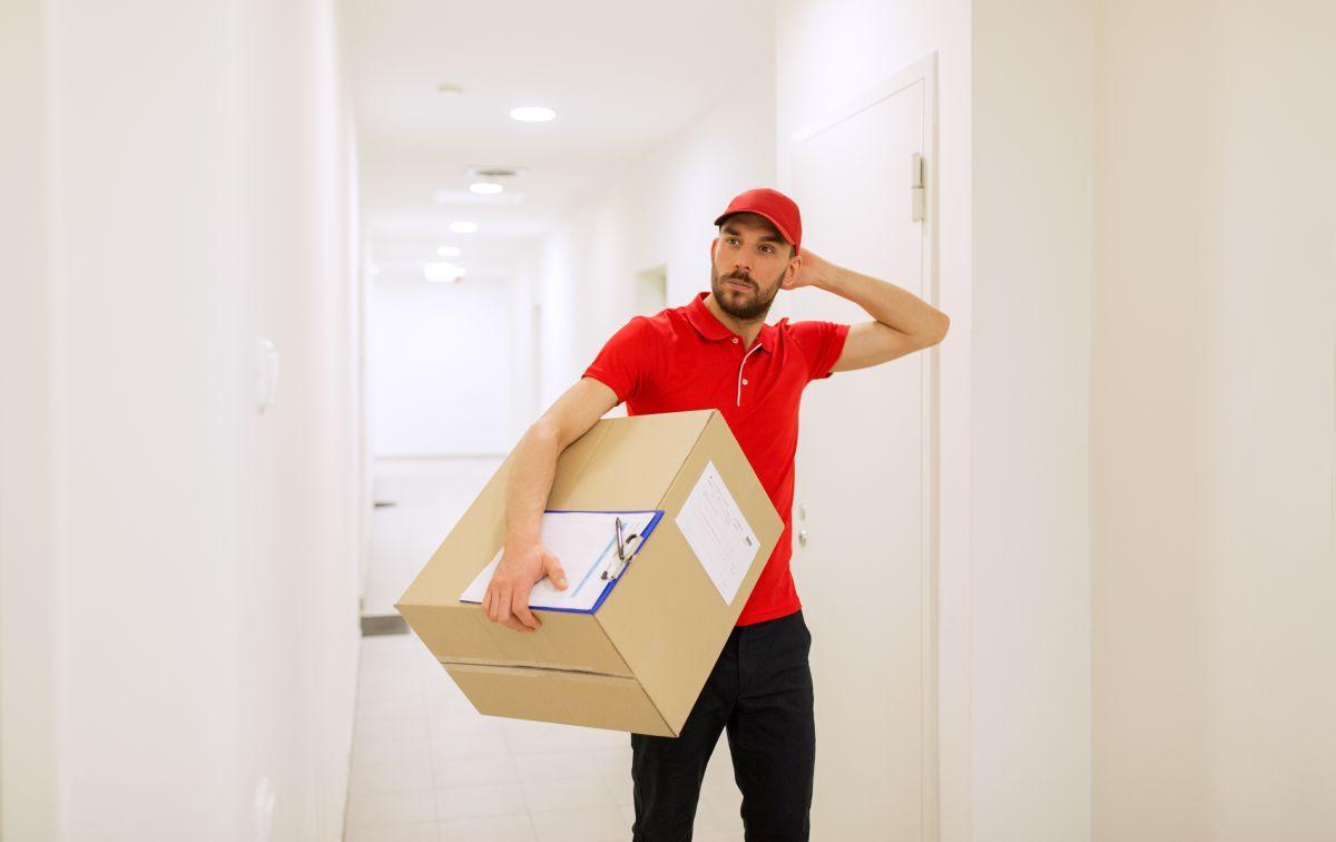 kurier - dostawa paczki
